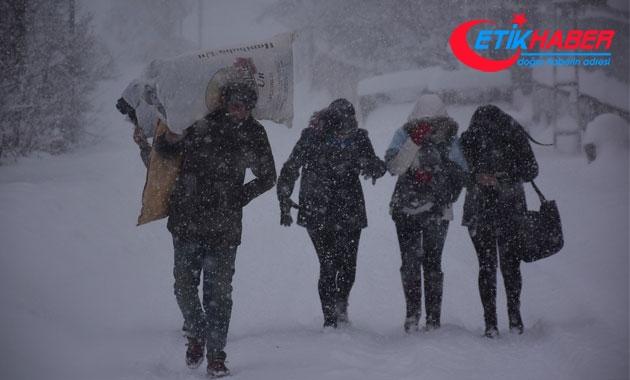 Ardahan'da okullar kar yağışı nedeniyle tatil edildi