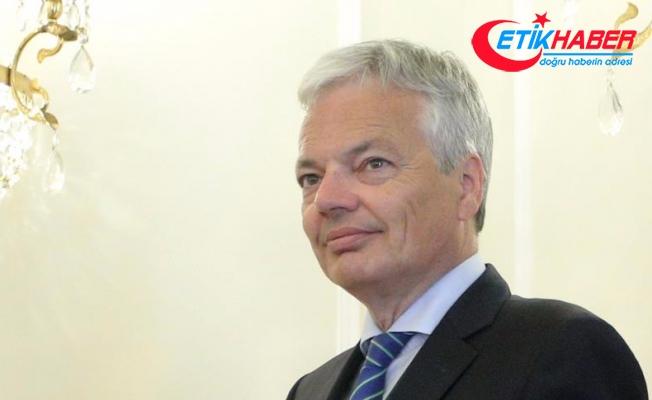 Belçika Dışişleri Bakanı Reynders: AB Filistin konusunda daha etkin rol üstlenmeli