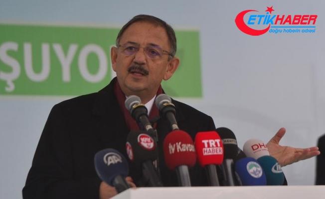 Çevre ve Şehircilik Bakanı Özhaseki: Şimdi Türkiye en büyük aktör