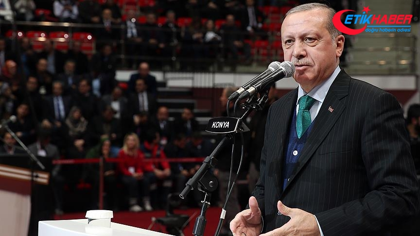 Cumhurbaşkanı Erdoğan: Ayrılık rüzgarları biz kararlı durursak asla etkili olamaz