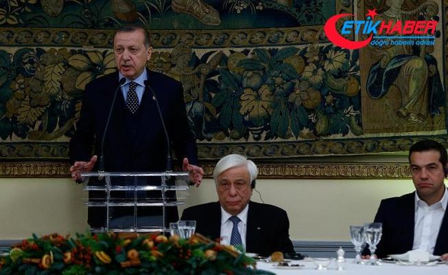 Erdoğan: Kıbrıslı Türkler 'azınlık' konumuna indirgenemeyecek