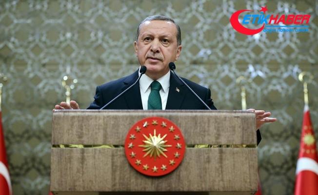 Erdoğan: Kudüs kararının iptali için BM nezdinde girişimler başlatıyoruz