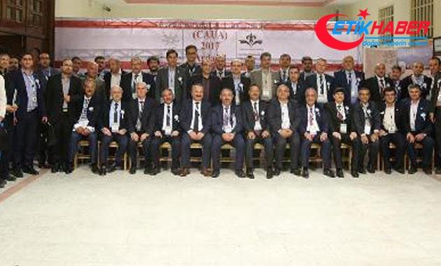ERÜ, Merkezi Asya Üniversiteler Birliği Genel Kurulu'na katıldı