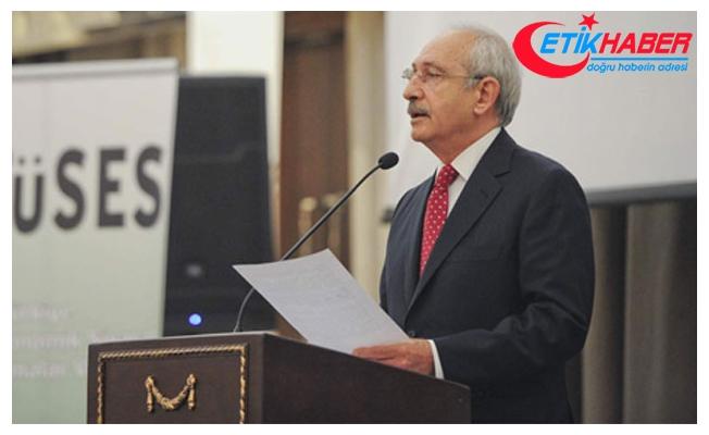 Kılıçdaroğlu, Ortadoğu Konferansı'nda konuştu