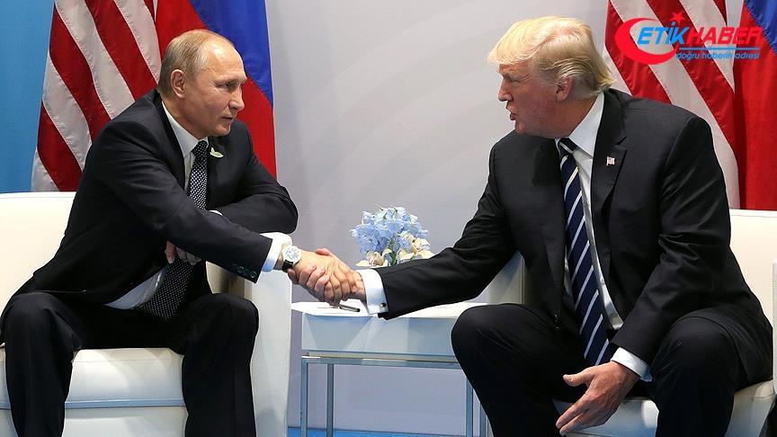 Putin'ten Trump'a 'istihbarat paylaşımı' teşekkürü
