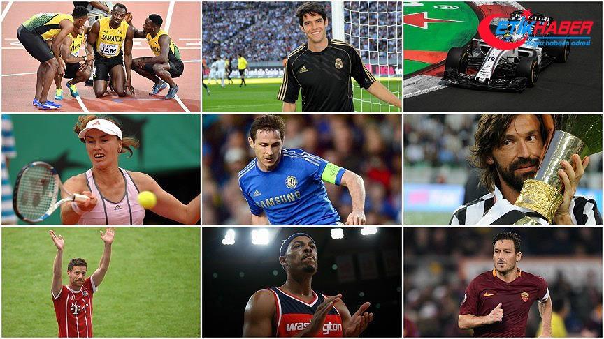 Spor dünyasında yıldızların vedası