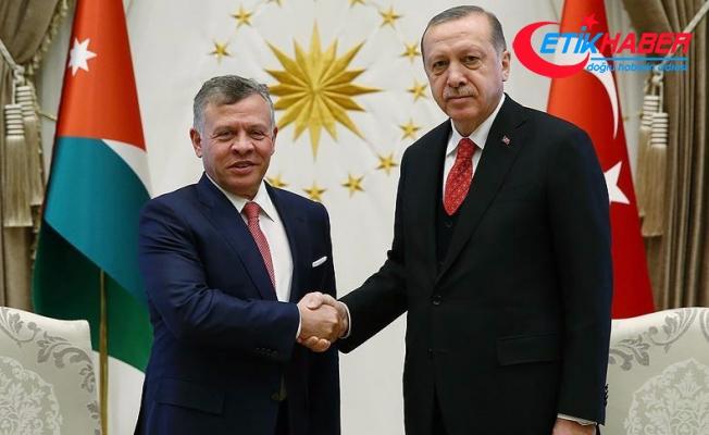 Ürdün Kralı 2. Abdullah Türkiye'de