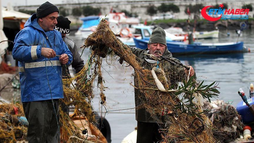 Balık yerine 'çöp' avladılar