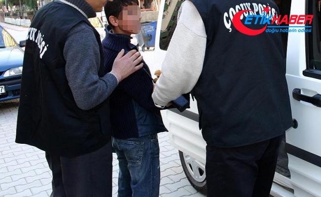 Başkentte 45 suç kaydı bulunan çocuk suçüstü yakalandı