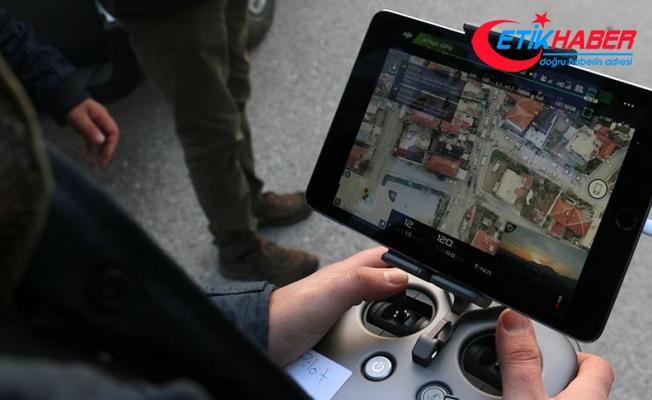 Denizli polisinden 'drone' destekli uyuşturucu operasyonu