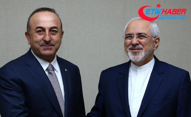 Dışişleri Bakanı Çavuşoğlu, İranlı mevkidaşı Zarif ile telefonda görüştü