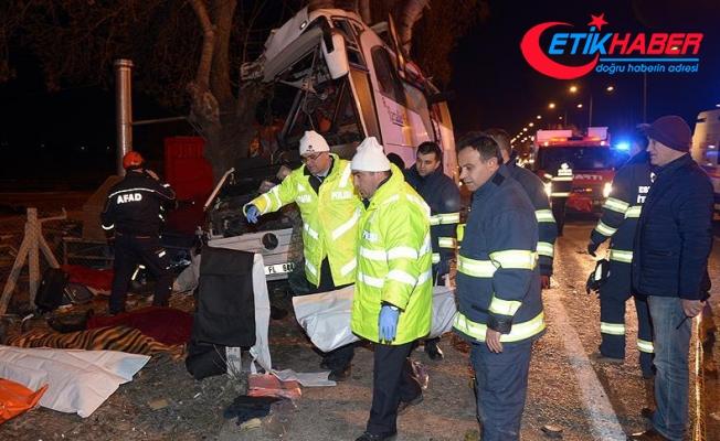 Eskişehir'de otobüs kazası: 11 ölü, 44 yaralı