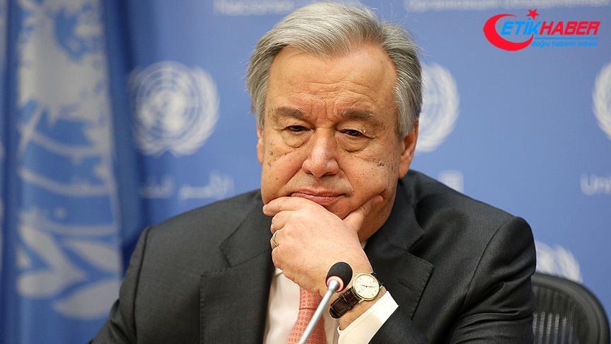 Guterres'ten ABD'nin Suriye planına ilişkin açıklama
