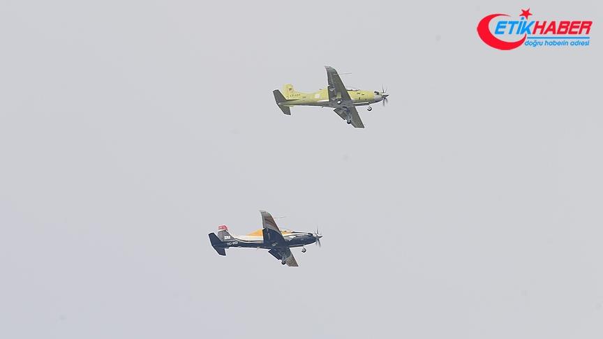 HÜRKUŞ-B ilk test uçuşunu başarıyla gerçekleştirdi