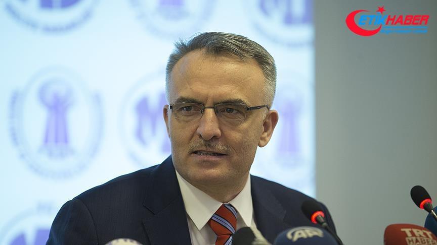 Maliye Bakanı Ağbal bütçe gerçekleşmelerini açıkladı: