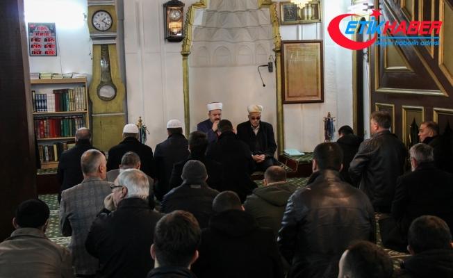 """Üsküp'te Zeytin Dalı Harekatı için """"zafer duası"""""""