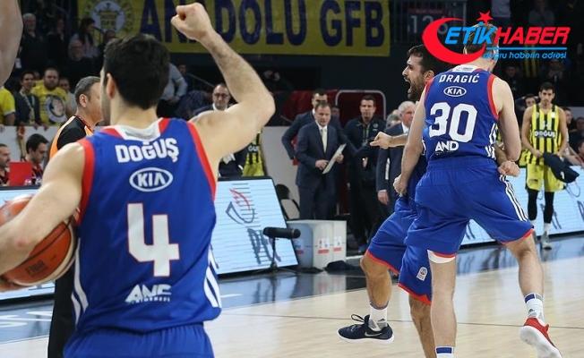 Anadolu Efes Türkiye Kupası'nda yarı finalde