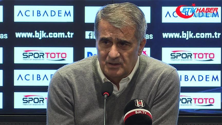Beşiktaş Teknik Direktörü Güneş: Kazanma duygumuzu sahaya yansıttık