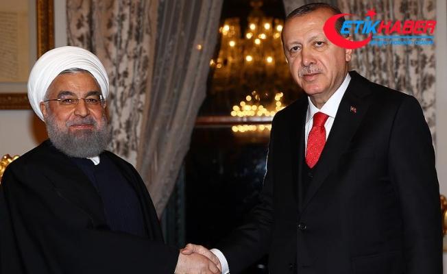 Cumhurbaşkanı Erdoğan Ruhani ile telefonla görüştü