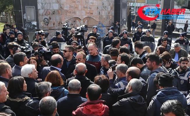 Diyarbakır'da izinsiz gösteriye izin verilmedi