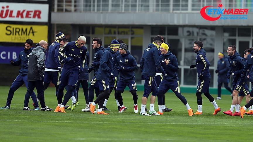 Fenerbahçe derbi maçın hazırlıklarını tamamladı