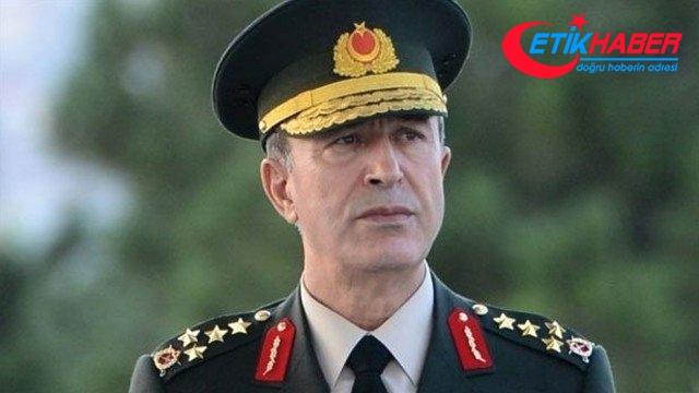 Genelkurmay Başkanı Orgeneral Akar: Bu ödülü büyük kahramanlık ve fedakarlıklarla görev yapmakta olan silah arkadaşlarım adına alıyorum