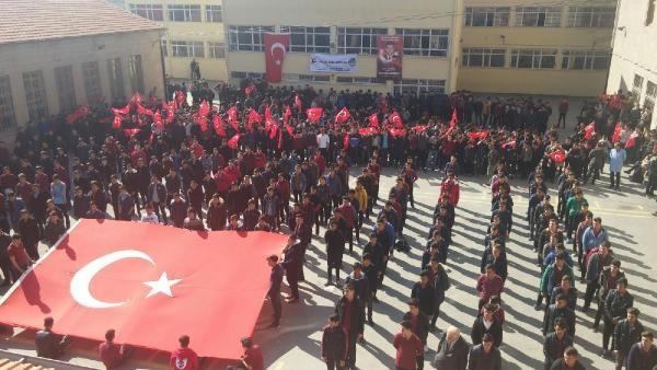 Niğde'de 800 öğrenci komando andı okudu