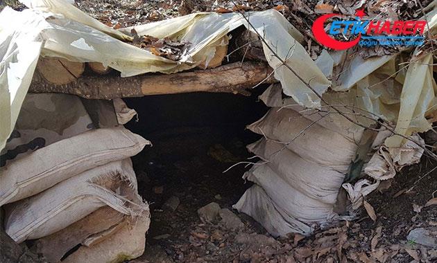 Tunceli'de PKK'nın 'yüzme havuzlu' sığınağı tespit edildi