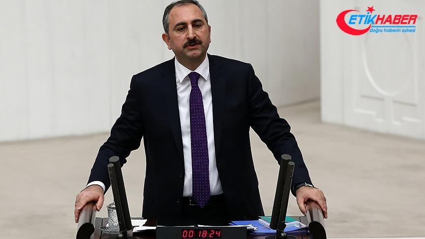 Adalet Bakanı Gül: İttifak önündeki engeller kaldırılmıştır, yasak kaldırılmıştır
