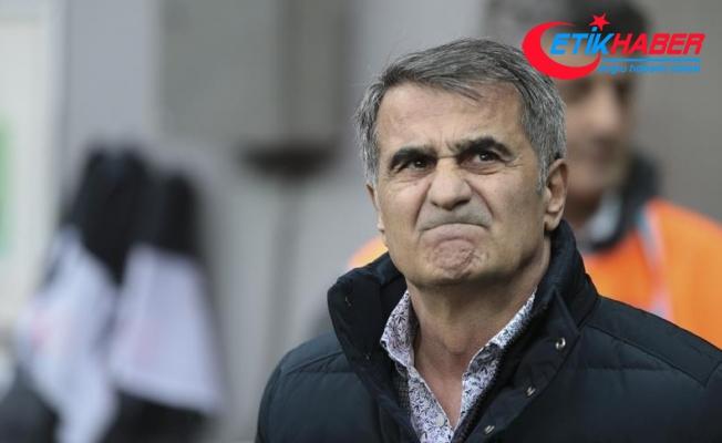 Beşiktaş Teknik Direktörü Güneş: Oyun üstünlüğümüz skor farkına ulaşamadı