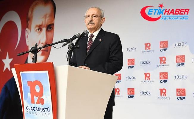 Kılıçdaroğlu: Senin yerin CHP'nin kapısının dışarısıdır