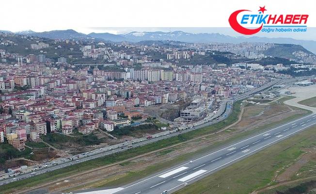 Trabzon Havalimanı acil iniş için kapatıldı