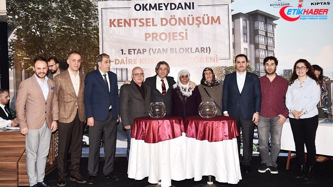 Okmeydanı Büyük Dönüşüm Projesi kurası çekildi