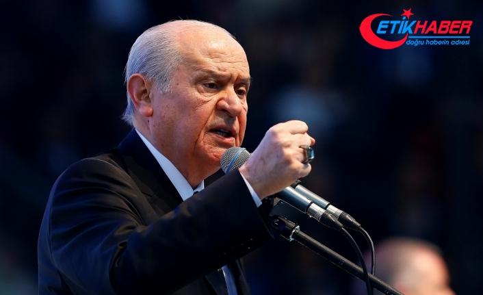 MHP Lideri Bahçeli: Çakal fermanını Bozkurt hükmü yırtar