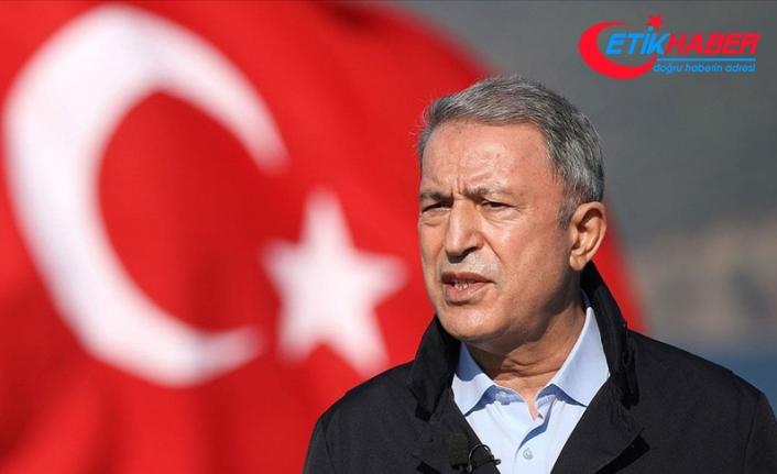 Bakan Akar: ABD'nin yaptırım kararı sadece Türkiye'yi değil aynı zamanda NATO ittifakını da olumsuz etkileyecek