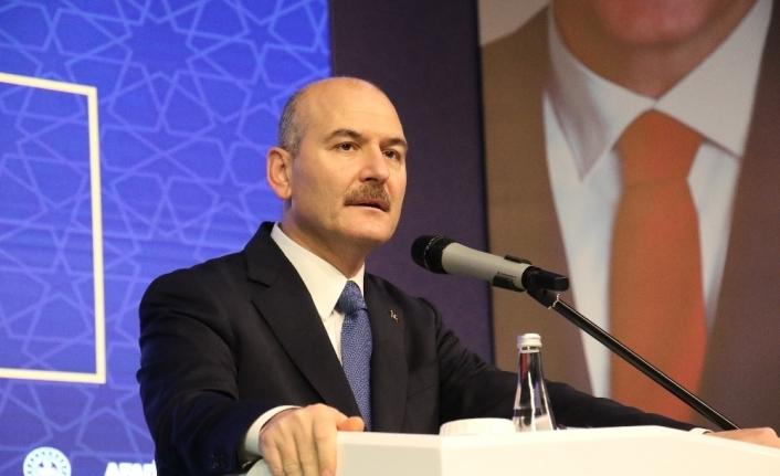 """Bakan Soylu: """"Ocak 2021'de yerli ve milli elektronik kelepçe hizmete girmiş olacak"""""""