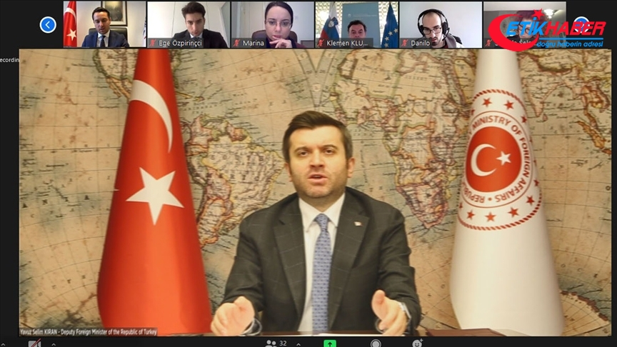 Dışişleri Bakan Yardımcısı Kıran: Güçlü tarihi ve insani bağlar Türkiye'yi bölgenin ayrılmaz parçası haline getiriyor