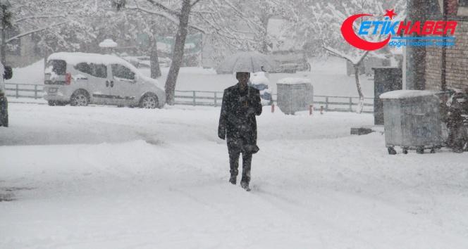 Meteoroloji uyardı, Güneydoğuya kar geliyor
