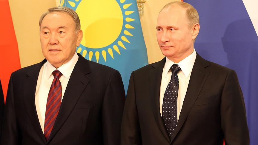 Putin ve Nazarbayev, Astana'da yapılacak Suriye görüşmelerinin hazırlıklarını ele aldı