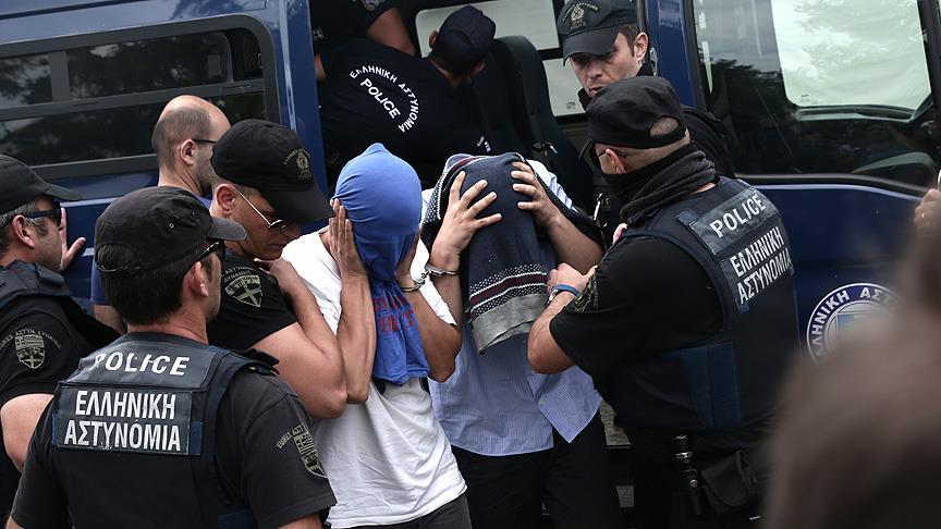 Firari askerlerin Yunanistan'da yargılanmasına başlandı