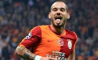 Galatasaray ile Sneijder'ın yolları ayrıldı