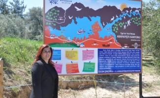 Aydın'da Arapapıştı Kanyonu turizme açılıyor