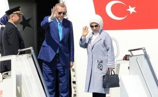 Cumhurbaşkanı Erdoğan Hindistan'a gitti