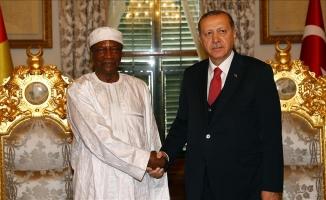 Erdoğan ve Conde bir araya geldi