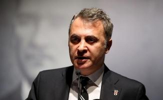 Fikret Orman'dan, Beşiktaş RMK Marine'e tebrik mesajı