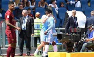 Roma derbisinde gülen taraf Lazio oldu