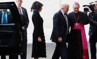 ABD Başkanı Trump Vatikan'da