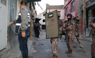 Adana'da huzur operasyonu: 15 gözaltı