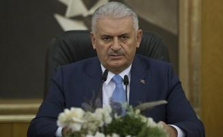 Başbakan Yıldırım: Bakü-Tiflis-Kars Demiryolu Hattı, artık bitirilme aşamasına gelmiştir