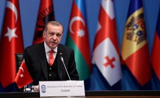 Cumhurbaşkanı Erdoğan: KEİ'yi sorunların çözümünde etkin bir araç haline getirmeliyiz